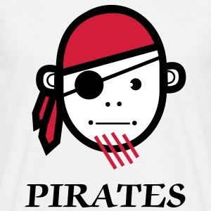 Pirates Shirt, Piraten Mannen T-shirt klassiek - Mannen T-shirt