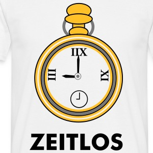 Zeitlos Shirt, pocket watch - Men's T-Shirt