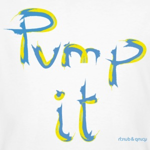 pump it T-Shirts - Männer Bio-T-Shirt