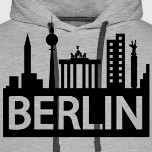 Berlin skyline Hoodies & Sweatshirts - Men's Premium Hoodie