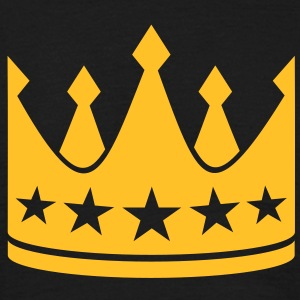 Crown kong dronning prinsesse kejser Boss Chef T-shirts - Herre-T-shirt