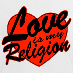 love is my religion Tee shirts - T-shirt contraste Femme