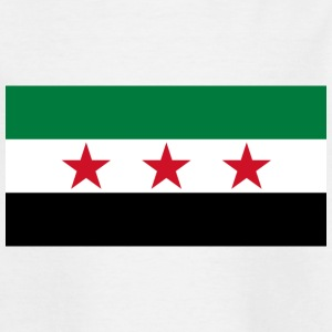 pre-1963 Syria Flag  - Teenage T-shirt