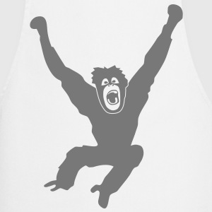Monkey ape chimp gorilla orang utan swing king kong godzilla  Aprons - Cooking Apron