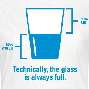 Glass Is Always Full 1 (2c)++ Tee shirts - T-shirt Femme