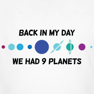 Back In My Day 1 (dd)++ T-Shirts - Men's Organic T-shirt