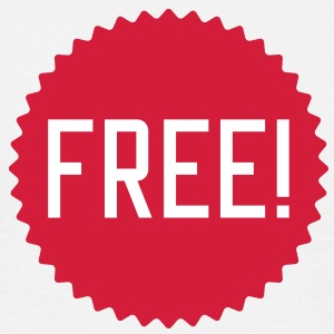 free | frei | freedom | frieden T-Shirts - Herre-T-shirt