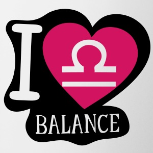 i love balance signe astrologique Tasses - Tasse
