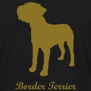 Border Terrier - Dog T-Shirts - Men's T-Shirt
