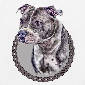 Staffordshire Bull Terrier 001 Bags  - EarthPositive Tote Bag