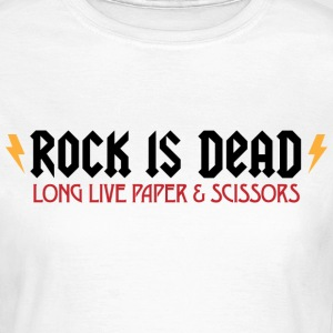 Rock Is Dead 2 (dd)++ T-Shirts - Frauen T-Shirt