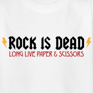 Rock Is Dead 2 (dd)++ Kinder shirts - Teenager T-shirt