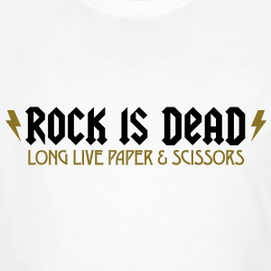 Rock Is Dead 2 (2c)++ Tee shirts - T-shirt bio Homme