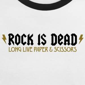 Rock Is Dead 2 (2c)++ T-Shirts - Frauen Kontrast-T-Shirt