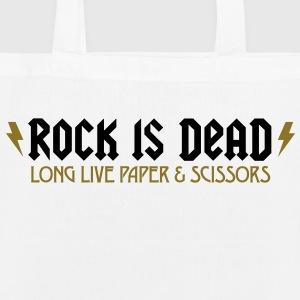 Rock Is Dead 2 (2c)++ Bags  - EarthPositive Tote Bag