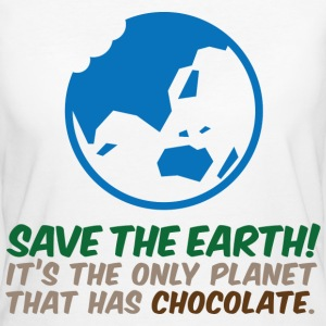 Save The Earth 2 (dd)++ T-shirts - Ekologisk T-shirt dam