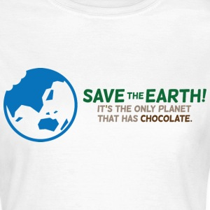 Save The Earth 1 (dd)++ T-skjorter - T-skjorte for kvinner