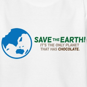 Save The Earth 1 (dd)++ Kinder T-Shirts - Teenager T-Shirt