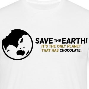 Save The Earth 1 (2c)++ T-skjorter - T-skjorte for menn