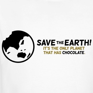 Save The Earth 1 (2c)++ T-shirts - Ekologisk T-shirt herr