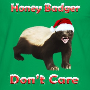 Honey Badger Don't Care - Men's Ringer Shirt