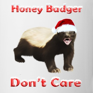 Honey Badger Don't Care - Mug