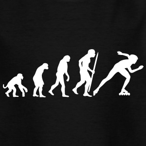 Evolution of inline speed skating  Kids' Shirts - Teenage T-shirt