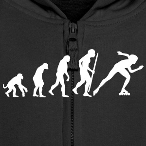 Evolution of inline speed skating  Kids' Tops - Kids' Premium Zip Hoodie
