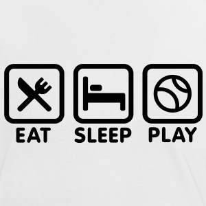 Eat Sleep Play baseball /softball T-Shirts - Women's Ringer T-Shirt