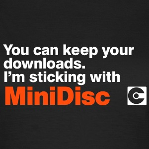 MINIDISC Downloads T-Shirts - Women's T-Shirt
