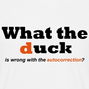 WhatTheDuck T-Shirts - Männer T-Shirt