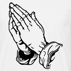 Betende Hände Praying Hands T-Shirts - Men's T-Shirt