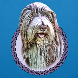 Bearded Collie 001 Bags  - EarthPositive Tote Bag
