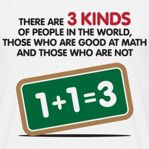 3 Kinds Of People 1 (dd)++ T-shirts - Herre-T-shirt