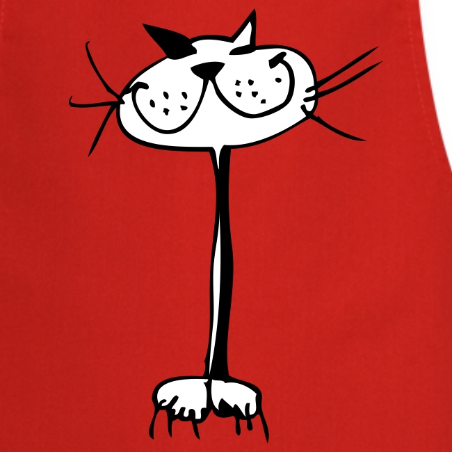 Katzen-Geschenke: Kochschürze