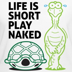 Play Naked 1 (dd)++ T-shirts - Ekologisk T-shirt dam