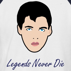 Legends Never Die - T-shirt baseball manches courtes Homme