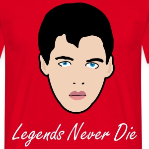 Legends Never Die - Men's T-Shirt