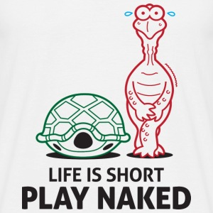 Play Naked 3 (dd)++ T-shirts - T-shirt herr