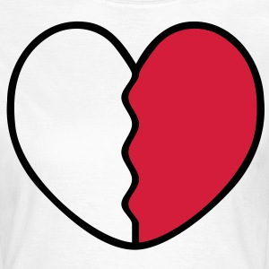 Heart Broken T-Shirts - Women's T-Shirt