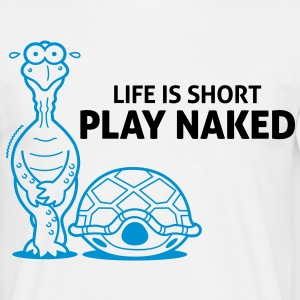 Play Naked 2 (2c)++ T-shirts - Herre-T-shirt