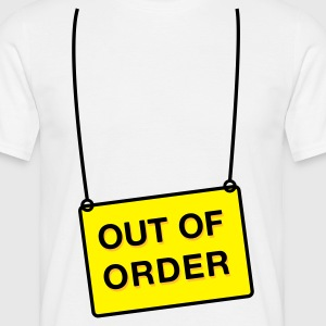 Out of Order - Männer T-Shirt