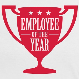 Employee Ofthe Year 1 (1c)++ T-shirts - Vrouwen contrastshirt