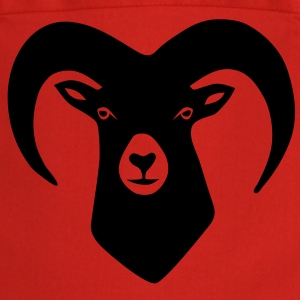 sheep goat mountain ram horn horns aries jumbock bighorn buck billy goat animal  Aprons - Cooking Apron