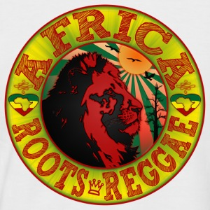 africa roots reggae Tee shirts - T-shirt baseball manches courtes Homme