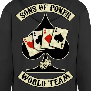 sons of poker world team Vestes - Veste à capuche Premium Homme