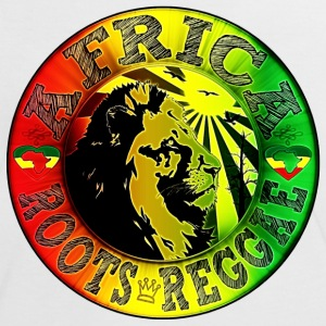 africa roots reggae T-shirts - Vrouwen contrastshirt