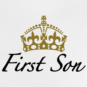 First Son | Crown | Krone Baby T-Shirts - Maglietta per neonato