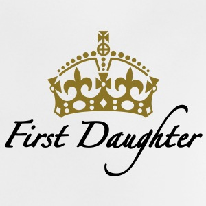 First Daughter | Crown | Krone Baby T-Shirts - Camiseta bebé
