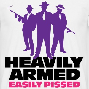 Heavily Armed 1 (dd)++ T-shirts - Mannen T-shirt